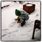 Schnee…